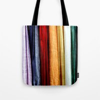 striped Tote Bags featuring Striped by Anne Seltmann