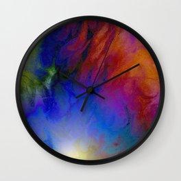 Fibre Fun Wall Clock