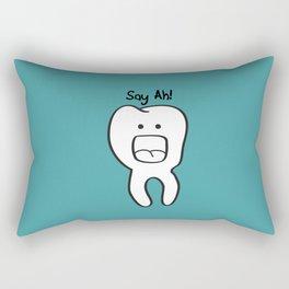 Say Ah! Rectangular Pillow