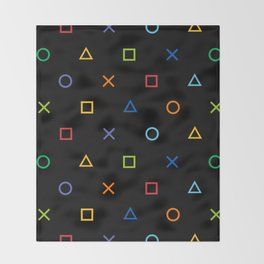 Colofrul Gamer Throw Blanket