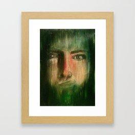 No Voice Framed Art Print