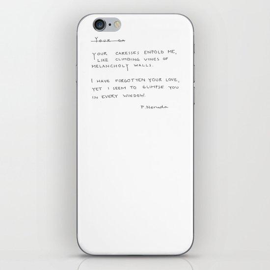 your love iPhone & iPod Skin