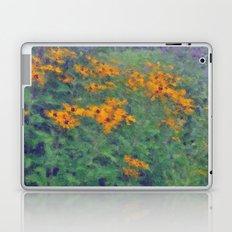 Impressionist Field of Flowers Laptop & iPad Skin