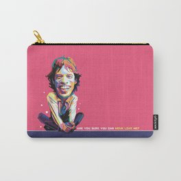 Move like Me Carricature WPAP Carry-All Pouch