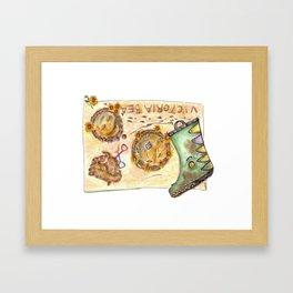 Mud Pies Framed Art Print