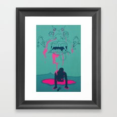 I. From the Ether, Beholden to the One Handed Man Framed Art Print