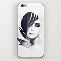 lightning iPhone & iPod Skins featuring Lightning by Daniel Bonavita
