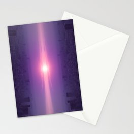 Let the guiding light lead you Stationery Cards