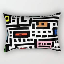 Urban  Cat Affair Rectangular Pillow