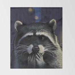 Urban raider Throw Blanket
