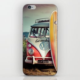 Surf bus iPhone Skin