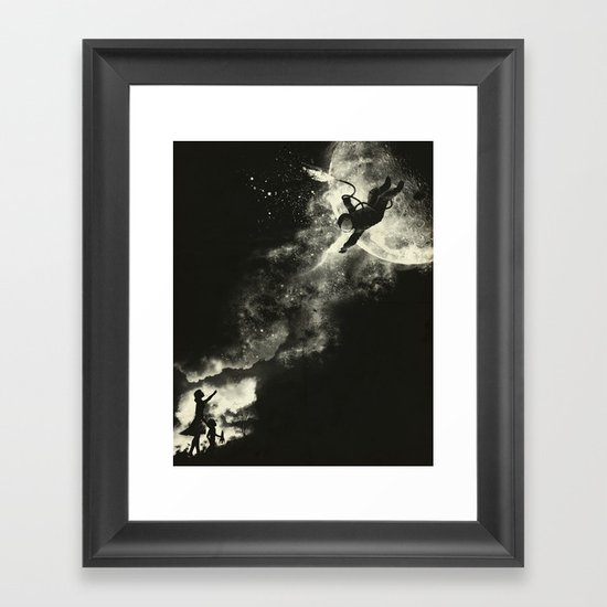 Tell my wife I love her very much, she knows  Framed Art Print