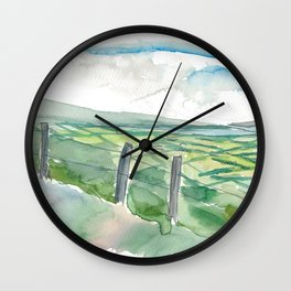 Ireland Dingle Peninsula Conor Pass County Kerry Wall Clock