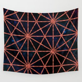 Steampunk Window on the Cosmo Wall Tapestry