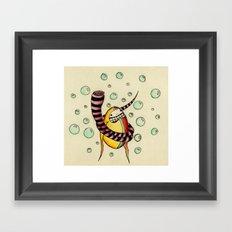 Bufanda Framed Art Print