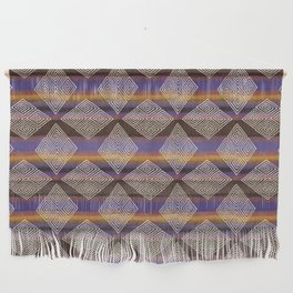 Bohemian Earth Diamonds | Mud Cloth Inspired by Cherie Wall Hanging