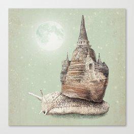 The Snail's Dream Canvas Print