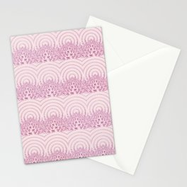 pattern rose tones Stationery Cards