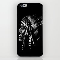 native american iPhone & iPod Skins featuring Native American by Sandy Elizabeth