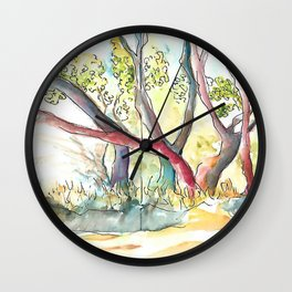 Summer's Day Wall Clock