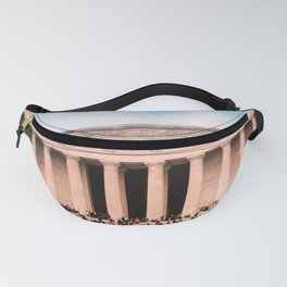 Lincoln Memorial building Fanny Pack