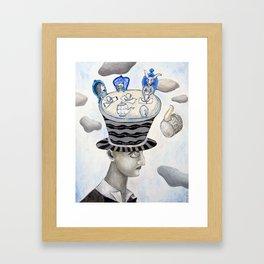The Mad Hatter Framed Art Print