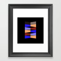 Aronde Pattern Framed Art Print