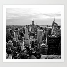 New York City B&W Art Print