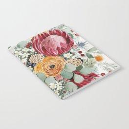 Fall Protea Bouquet Notebook