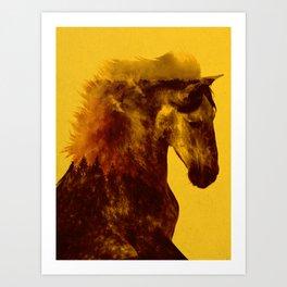 Proud Stallion Art Print