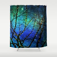 twilight Shower Curtains featuring twilight by Sylvia Cook Photography