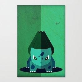 Minimalistic Bulba Poke Canvas Print