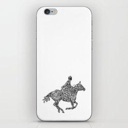 Horse Rider iPhone Skin