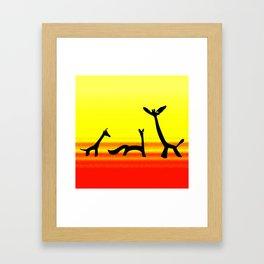 Les Animaux 3 Framed Art Print