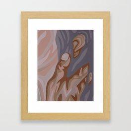 Touch Framed Art Print