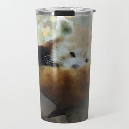 Tired Red Panda Travel Mug