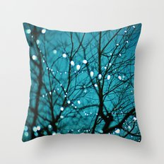 tree photograph. Wonder Throw Pillow