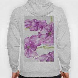 Flower lilac Hoody