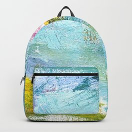 Flying Up - Abstract Painting Backpack