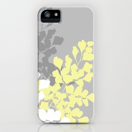 Graphic Shadow Ferns iPhone Case