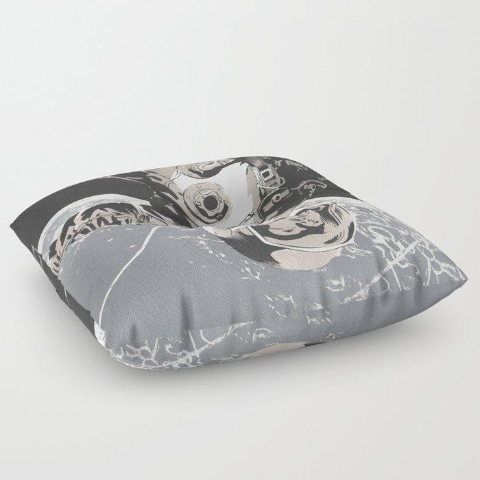 Gravity Floor Pillow