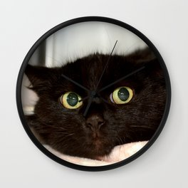 Black Cat 2 Wall Clock