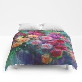Tea Roses Comforters