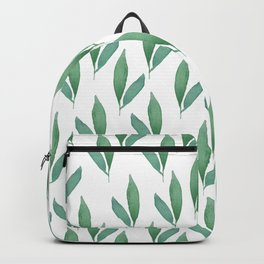 floral, leafs Backpack