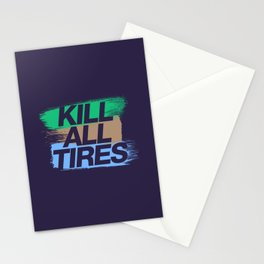 Kill All Tires v7 HQvector Stationery Cards