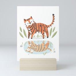 Little Tiger Mini Art Print