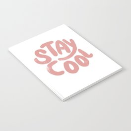 Stay Cool Vintage Pink Notebook