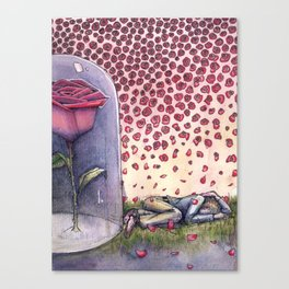 "Le Petit Prince ""Ephemeral"" Canvas Print"