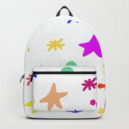 White blink Backpack