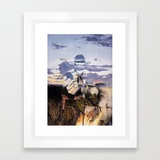 The Unknown Rider A Matter Of Honor Framed Art Print